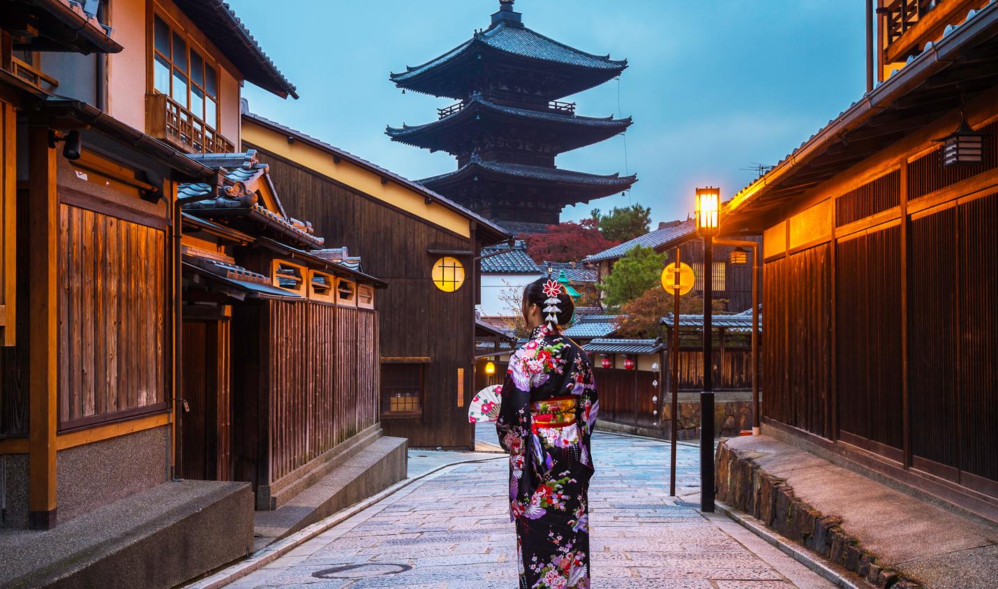 Sur les traces du Japon